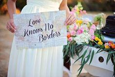 70 Travel-Themed Wedding Ideas That Inspire | HappyWedd.com