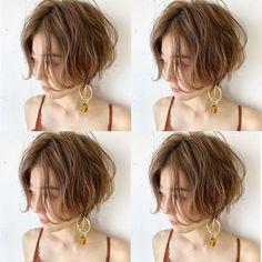 Pin on ヘアスタイル Girl Short Hair, Short Hair Cuts, Short Hair Styles, Vintage Hairstyles, Bob Hairstyles, Pretty Hairstyles, Japanese Short Hair, Hair Setting, Silver Hair