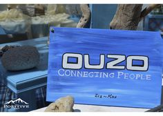 Ouzo Connecting people