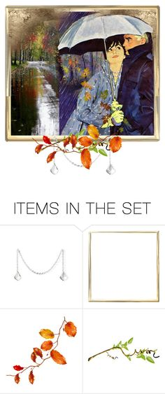 """""""under my umbrella"""" by snowmoon ❤ liked on Polyvore featuring art"""