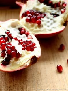 Homemade Pomegranate Facial Scrub