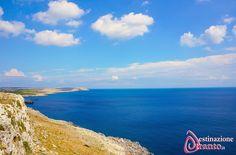 L'orizzonte visto dalla litoranea Otranto - Santa Cesarea