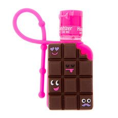 Chocolate Candy Bar Holder with Chocolate Mousse Anti-Bacterial Hand Sanitizer