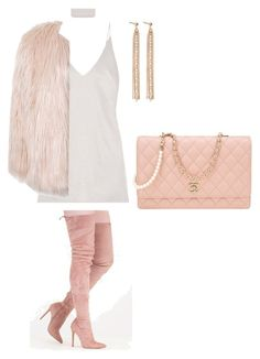 """""""Rose day #25"""" by andyck on Polyvore featuring moda, Sans Souci, Chanel e Charlotte Chesnais"""