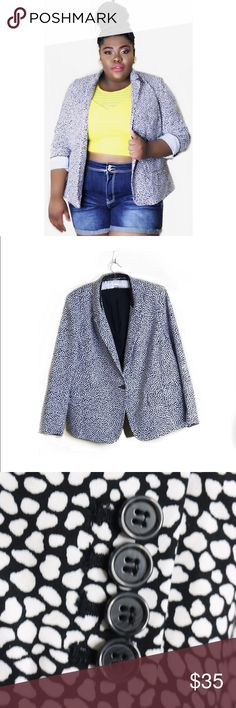 Blazer Blazers are a great way to add that extra oomph to your outfits. It is so versatile and perfect for almost every season. Lane Bryant Jackets & Coats Blazers