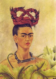 Frida Kahlo: Self-Portrait with braid (1941) | Flickr - Photo Sharing!