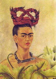 Frida Kahlo: Self-Portrait with braid (1941)