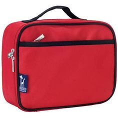 Wildkin Insulated Lunchbox - Red