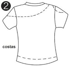 Instructions to transform a t-shirt How to transform clothes-t-shirts, if you have always had that concern to transform those clothes of … rnrnSource by Diy Cut Shirts, T Shirt Diy, Cutting Shirts, How To Cut Tshirt, Diy Clothes Refashion, Shirt Refashion, Refashioned Clothes, Diy Pullover, Cut Shirt Designs