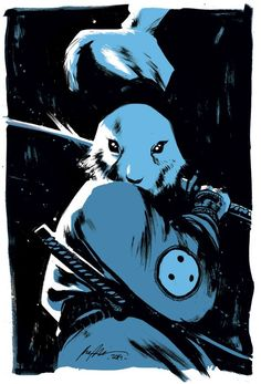 """xombiedirge: Usagi Yojimbo by Rafael Albuquerque / Website Part of the Help the Sakais Benefit Auction, organised in conjunction with CAPS. and included in """"The Sakai Project Book"""". More info and donation options HERE Comic Book Characters, Comic Books Art, Comic Art, Shuriken, Katana, Rafael Albuquerque, Character Art, Character Design, Usagi Yojimbo"""