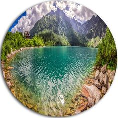 DesignArt 'Amazing Tatra Mountains Lake' Photographic Print on Metal Size: