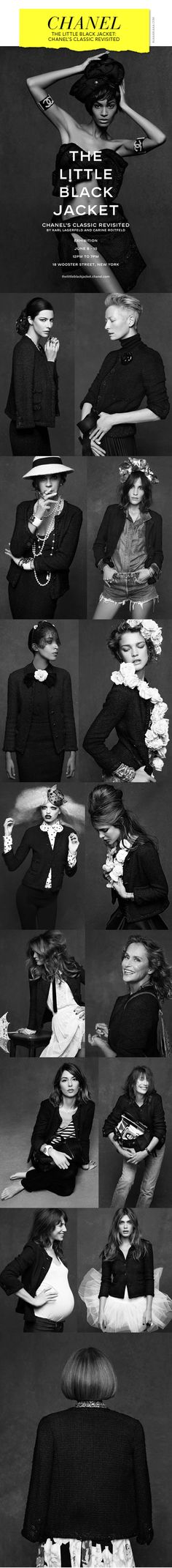 The Little Black Jacket: Chanel's Classic Revisited, by Karl Lagerfeld and Carine Roitfeld