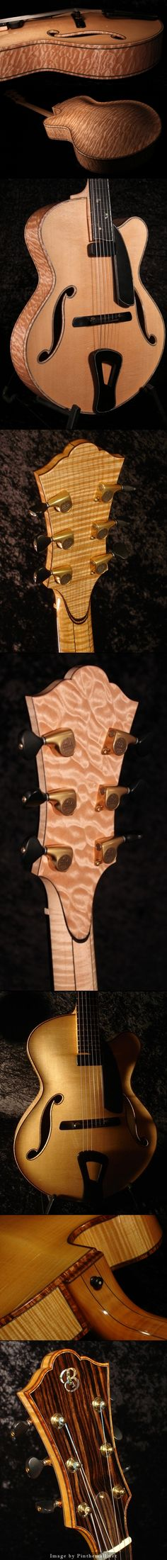 Tom Bills Custom Guitars. Beautiful design Tom!