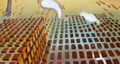 """Trabalho inspirado em a """"Desintegração da Persistência da Memória"""" de Dalí - Pormenor(11ª etapa) (15/2/2017)"""