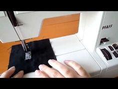 (51) Öltésről öltésre 04. Elerősítés - YouTube Sewing Projects, Youtube, Stitching