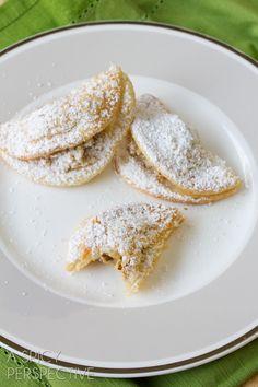 Quickie Hungarian Kifli Cookies - Reminiscent of Classic Hungarian Kiflis!
