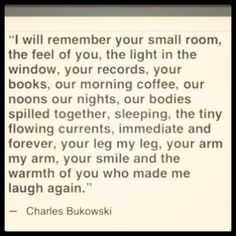 Bukowski Quotes and Poetry