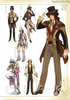 IMC Games, Granado Espada, Wizard (Granado Espada), Character Sheet - This one is nice, too.