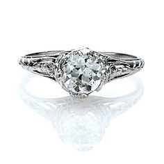 Something just beautiful about filigree rings!!