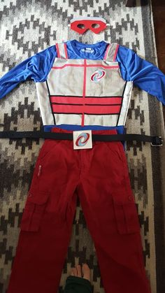 james henry danger costume for halloween still have to do the arm patches i think it turned out great excuse my footlol