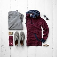 Men's Casual Look #menswear #mensfashion #menstyle #hoodie #sneakers #cologne #sunglasses