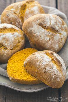 Petits pains au potimarron- A essayer vite vite tellement ils sont beaux !!!!