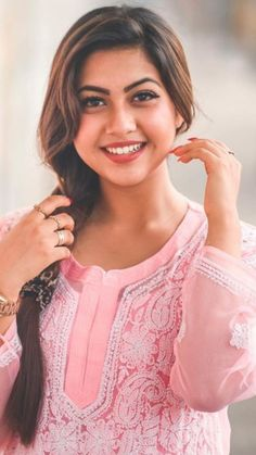 Cute Beauty, Beauty Full Girl, Girl Photo Poses, Girl Photos, Most Beautiful Indian Actress, Indian Actresses, Ponytail, Cute Girls, Hair Beauty