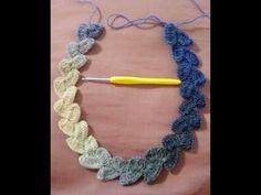 PUNTADA FANTASÍA A CROCHET PASO A PASO - YouTube Crochet Chart, Crochet Stitches, Crochet Patterns, Diy Crochet Bikini Top, Crochet Lanyard, Crochet Necklace Pattern, Honeycomb Stitch, Crochet Mermaid Tail, Beginner Crochet Projects