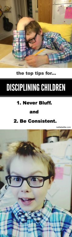 Read the top tips for disciplining children. Every parent needs to follow these rules!