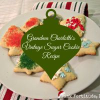 Grandma Charlotte's Old Fashioned Sugar Cookie Recipe » The Coconut Head's Survival Guide (During and After) Ugly Cancer ~ Beautiful Me