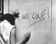 I HATE LOVE, 1950  Stanley Kubrick