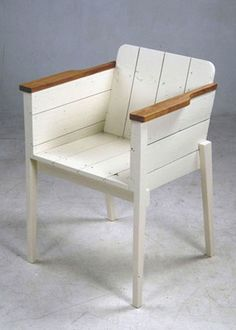 sweet chair - scrap wood furniture by Piet Hein Eek