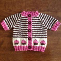We Like Knitting: Cupcake Cardigan Deux - Free Pattern