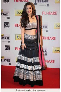Looking for Designer Indian Bollywood Actress Alia Bhatt Black Lehenga? Buy it at from Rediff Shopping today! Cash on delivery available(COD) for Designer Indian Bollywood Actress Alia Bhatt Black Lehenga & other Apparels, Accessories. Alia Bhatt Lehenga, Bollywood Lehenga, Net Lehenga, Indian Lehenga, Heavy Lehenga, Lehenga Choli Designs, Indian Bollywood Actress, Bollywood Fashion, Bollywood Style