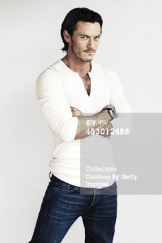 Luke Evans my next ex husband looks good doesn't he?