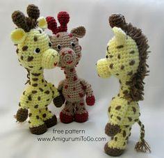 Free crochet pattern for giraffe