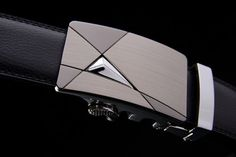 Belt new arrival men automatic buckle brand designer leather belts for business men which high quality and luxury for man Black Leather Belt, Leather Belts, Leather Men, Business Fashion, Business Men, Business Style, Designer Belts, Leather Design, Adulting