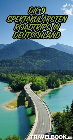 Die 9 spektakulärsten Roadtrips in Deutschland - Urlaub in Europa - Camping Destinations D'europe, Holiday Destinations, Road Trip Usa, Road Trip Europe, Trailers Camping, Places To Travel, Places To See, Aesthetic Couple, Travel Photographie