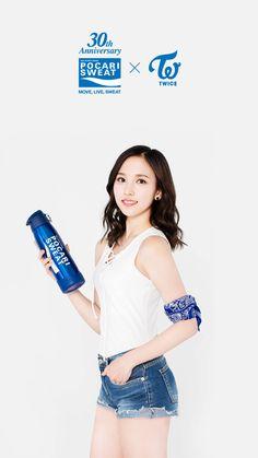 Twice - Mina Nayeon, South Korean Girls, Korean Girl Groups, Pocari Sweat, Twice Photoshoot, Warner Music, Sana Momo, Myoui Mina, Dahyun
