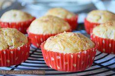 El Recetario de Lady Halcon: Muffins salados de jamón de york, queso y dátiles