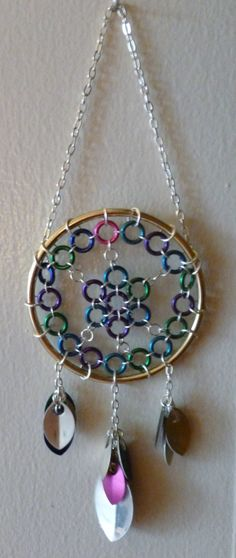 Small Chainmaille Dream Catcher