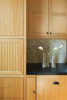 Backsplash Achtenberg Residence - contemporary - kitchen - san francisco - John Lum Architecture, Inc. AIA