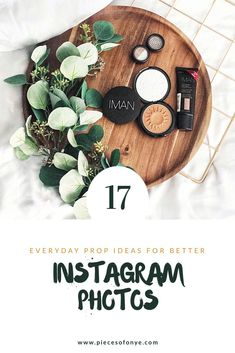 Flatlay Prop Ideas, Instagram photo props, Flatlay inspiration