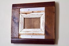 'Door and Floor' reclaimed wood photo frame £35.00 www.freerangeframes.co.uk