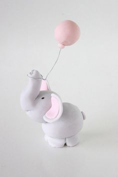 how to: baby elephant with balloon