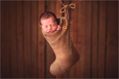 This stocking stuffer: 29 Babies Who Totally Nailed Their First Christmas Photo Shoot