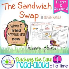 The Sandwich Swap: I