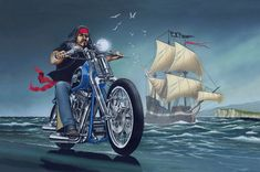 David Mann Motorcycle Art | Motoblogn: David Mann - The Norman Rockwell of Biker Art - Gallery 4 Baggers, Choppers, Motorcycle Art, Bike Art, Harley Davidson Kunst, David Mann Art, Badass, Drawn Art, Norman Rockwell