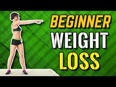 Beginner Weight Loss Workout - Easy Exercises At Home Here's a workout routine created for beginners and people that are just beginning to exercise at home. This workout will help you burn fat and reduce weight, by doing simple, easy exercises. Easy At Home Workouts, Fun Workouts, Best Weight Loss, Weight Loss Tips, Fitness Youtubers, Video Sport, Workout Essentials, Workout Regimen, Reduce Weight