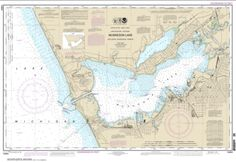 Muskegon Lake and Muskegon Harbor (14934-29) by NOAA